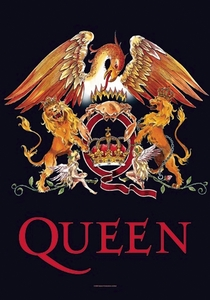 QUEEN CROWN FABRIC POSTER