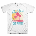 RED HOT CHILI PEPPERS BEACH SCENE MEN'S T-SHIRT