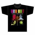 RED HOT CHILI PEPPERS COLOR ME PEPPERS MEN'S T-SHIRT