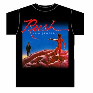 RUSH HEMISPHERES MEN'S T-SHIRT