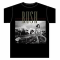 RUSH PERMANENT WAVES MEN'S T-SHIRT