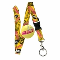 SEX PISTOLS LOGO LANYARD KEYCHAIN HOLDER