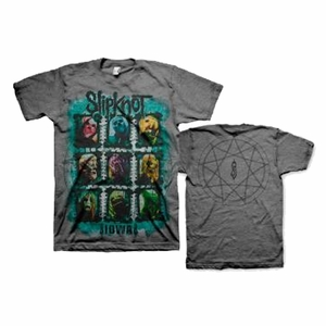 SLIPKNOT COLORS GRID MEN'S T-SHIRT