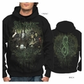 SLIPKNOT DISTRESSED CIRCLE MEN'S HOODIE