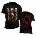 SLIPKNOT MEZZOTINT MEN'S T-SHIRT