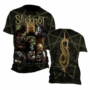 SLIPKNOT SICKNESS MEN'S T-SHIRT