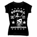 SOCIAL DISTORTION 1979 WOMEN'S T-SHIRT