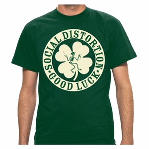 SOCIAL DISTORTION IRISH MEN'S T-SHIRT
