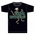 SOCIAL DISTORTION LETTERMAN MEN'S T-SHIRT