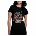 SOCIAL DISTORTION NEWSPAPER PIN-UP TUNIC WOMEN'S T-SHIRT