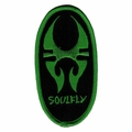 SOULFLY LOGO EMBROIDERED PATCH