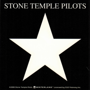STONE TEMPLE PILOTS LOGO STICKER