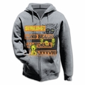 SUBLIME 1988 LOGO HEATHER MEN'S ZIP HOODIE