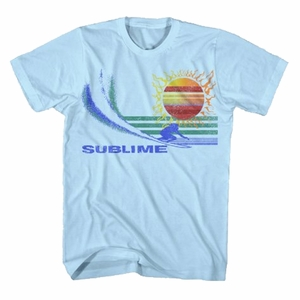 SUBLIME CATCHING THE WAVE MEN'S SOFT T-SHIRT