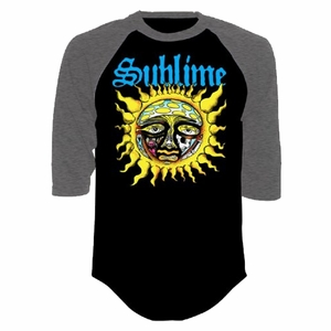 SUBLIME SUN MEN'S RAGLAN T-SHIRT