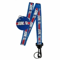 SUM 41 STAR LOGO LANYARD KEYCHAIN HOLDER