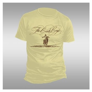 THE BEACH BOYS SCRIPT LOGO HORSE MEN'S T-SHIRT