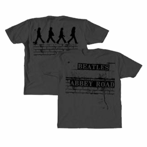 THE BEATLES BRICK ROAD MEN'S T-SHIRT