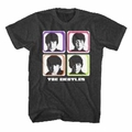 THE BEATLES FOUR COLORED SQUARES MEN'S T-SHIRT