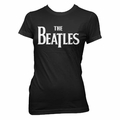 THE BEATLES LOGO WOMEN'S T-SHIRT