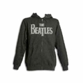 THE BEATLES VINTAGE LOGO MEN'S ZIP HOODIE