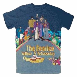 THE BEATLES YELLO SUB DYE MEN'S T-SHIRT