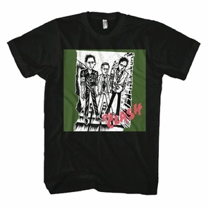 THE CLASH 1ST ALBUM CLASH LOGO MEN'S T-SHIRT