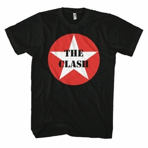 THE CLASH STAR LOGO MEN'S T-SHIRT
