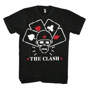 THE CLASH STRAIGHT TO HELL MEN'S T-SHIRT