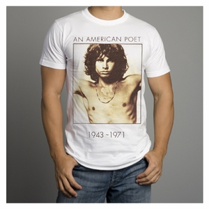 THE DOORS AMERICAN POET PREMIUM COTTON MEN'S T-SHIRT