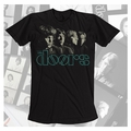 THE DOORS HORIZON PREMIUM COTTON ENZYME WASHED MEN'S T-SHIRT