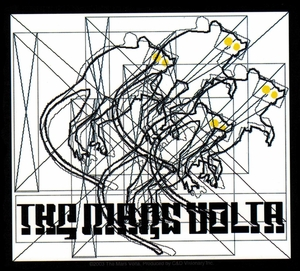 THE MARS VOLTA 4 RATS STICKER