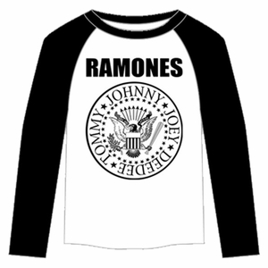 THE RAMONES PRESIDENTIAL SEAL RAGLAN MEN'S T-SHIRT
