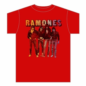 THE RAMONES SPLIT FOUNTAIN MEN'S T-SHIRT