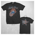 THE ROLLING STONES DISTRESSED TONGUE LONG SLEEVE MEN'S T-SHIRT