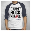 THE ROLLING STONES IORR RAGLAN MEN'S T-SHIRT