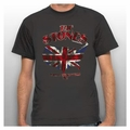 THE ROLLING STONES UNION JACK U.S. MAP 81 MEN'S T-SHIRT