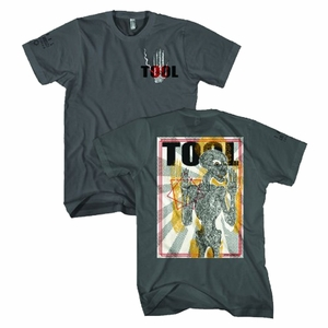 TOOL SPECTRE BURST SKELETON MEN'S SOFT T-SHIRT