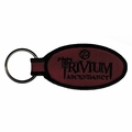 TRIVIUM ASCENDANCY EMBROIDERED OVAL KEYCHAIN