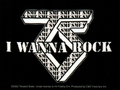 TWISTED SISTER I WANNA ROCK STICKER