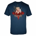 VAN HALEN SMOKING MEN'S T-SHIRT