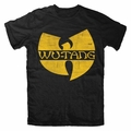 WU-TANG CLAN CLASSIC YELLOW LOGO MEN'S T-SHIRT