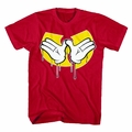 WU-TANG CLAN DRIPPING HANDS MEN'S T-SHIRT