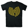 WU-TANG CLAN REPEAT LOGO MEN'S T-SHIRT