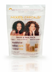 Travel & Trial pack with resealable zip lock bag