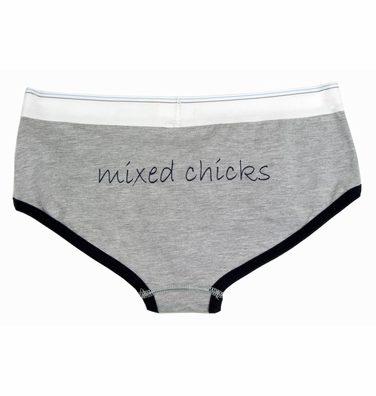 "womens underwear - ""mixed chicks"""