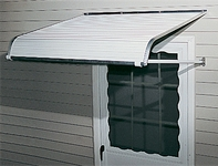 Arctic Metal Door Awnings
