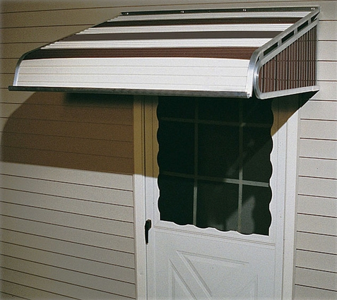 Vertex Metal Door Awnings - Click to enlarge