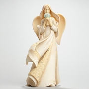 Angel Memorial / Forget Me Not Figurine