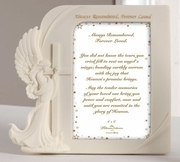 Angel Memorial Frame